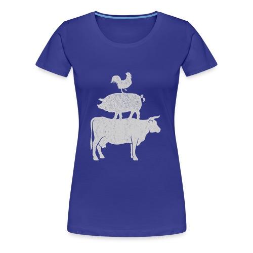 Pyramid Print2 - Women's Premium T-Shirt