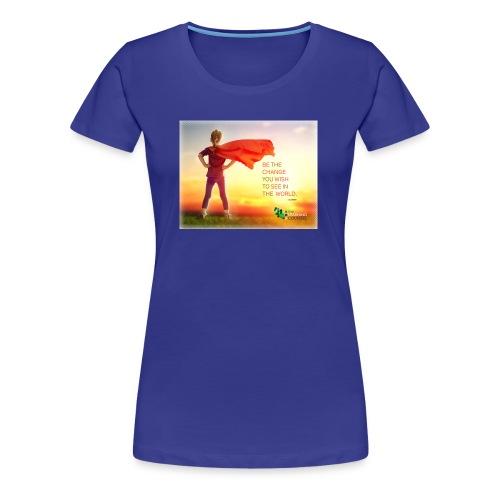 Education Superhero - Women's Premium T-Shirt