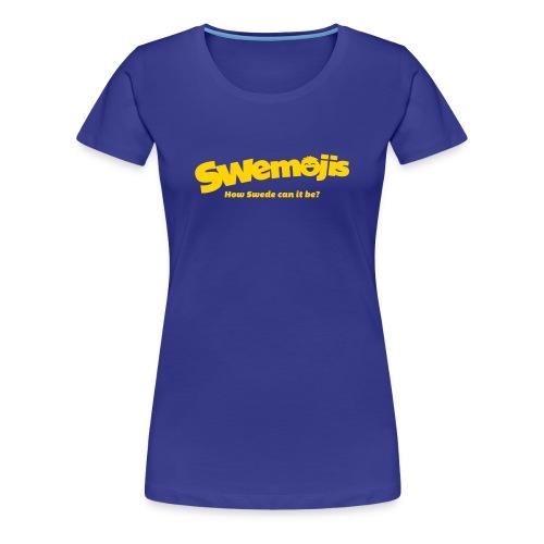 Swemojis logo - Women's Premium T-Shirt