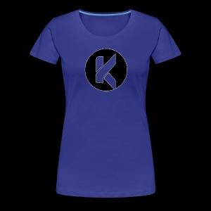 Koptivate Logo (Circle) - Women's Premium T-Shirt