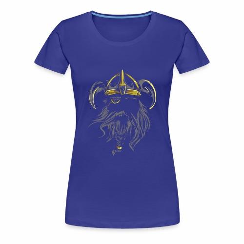 Viking Warrior - Women's Premium T-Shirt