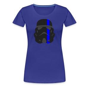 Thin Blue Line - Storm Trooper - Women's Premium T-Shirt