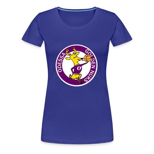 Logo White Outline - Women's Premium T-Shirt