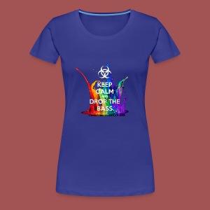 Drop The Bass - Women's Premium T-Shirt