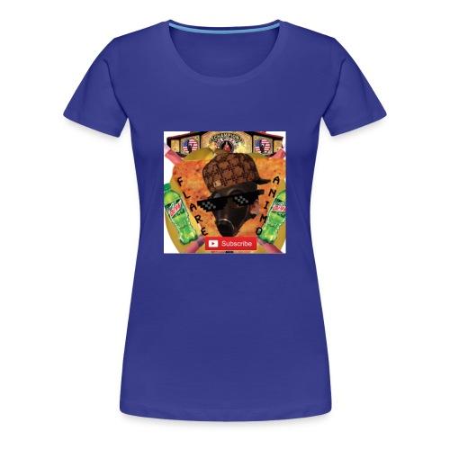 FlareAnimo | Official Logo - Women's Premium T-Shirt