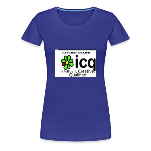 new icq edited - Women's Premium T-Shirt