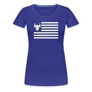 PivotBoss Flag White - Women's Premium T-Shirt