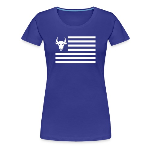PivotBoss Flag White - Women's Premium T-Shirt