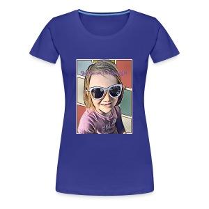 Emma GamerGirl - Women's Premium T-Shirt