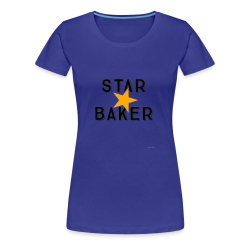 Star Baker Great British Bake Off - Women's Premium T-Shirt