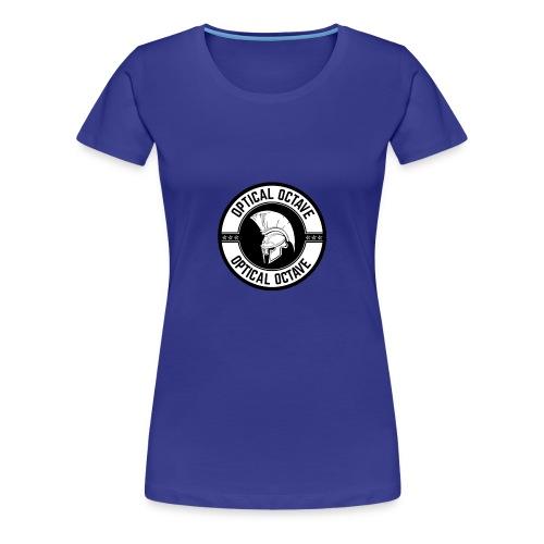 Optical Octave Logo - Women's Premium T-Shirt