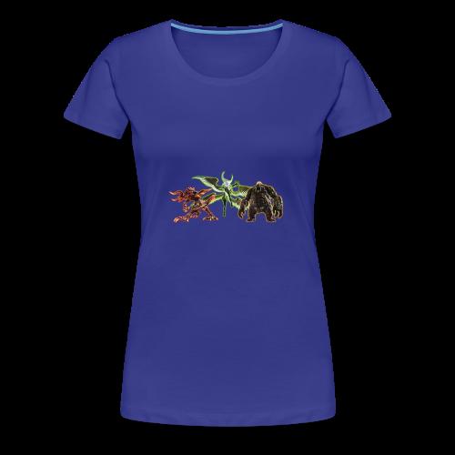FFXIV Primals - Women's Premium T-Shirt