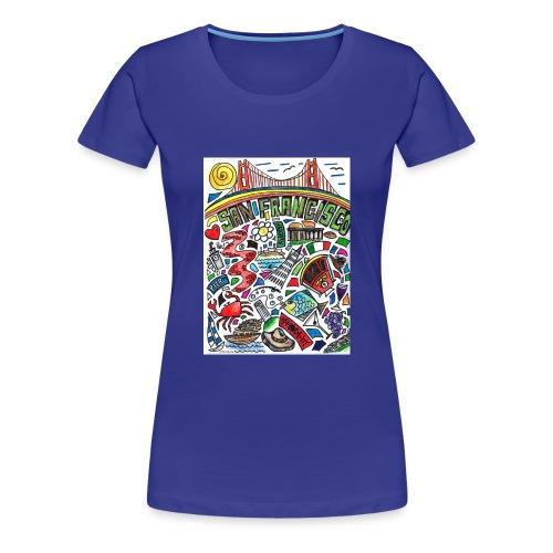 San Francisco - Women's Premium T-Shirt
