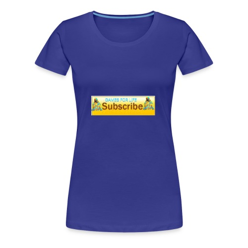 GAMES FOR LIFE - Women's Premium T-Shirt