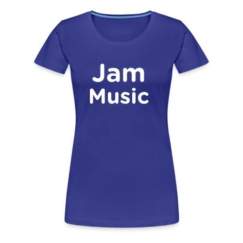 JamMusicWhite - Women's Premium T-Shirt