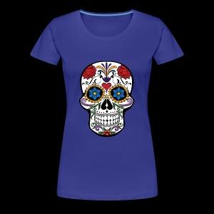 Sugar Skull - Women's Premium T-Shirt