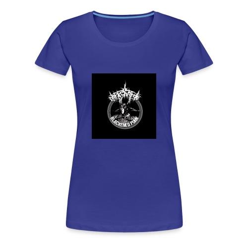 darkcharge button - Women's Premium T-Shirt
