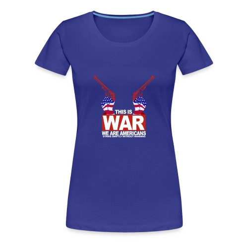 War USA - Women's Premium T-Shirt