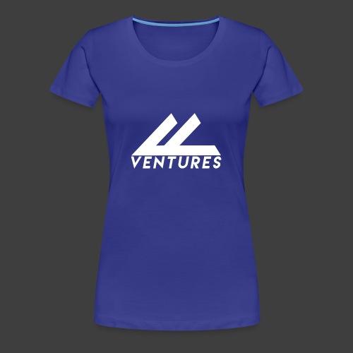 Vanity Ventures White Logo - Women's Premium T-Shirt