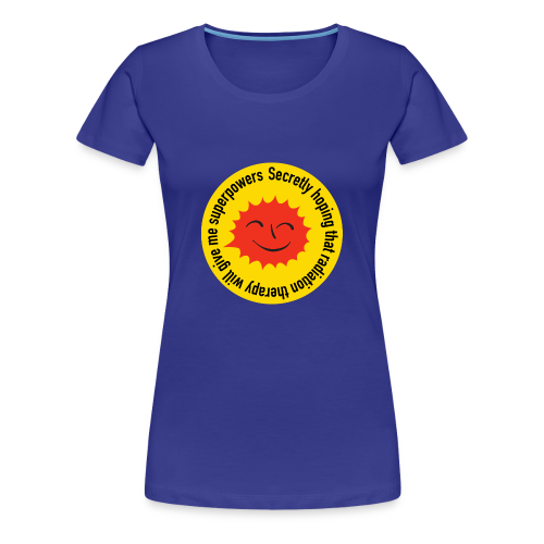 Radiation Superpowers - Women's Premium T-Shirt