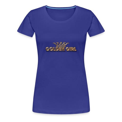 GoldenGirl - Women's Premium T-Shirt