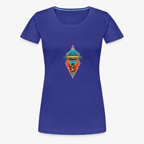 Space Pharaoh - Women's Premium T-Shirt
