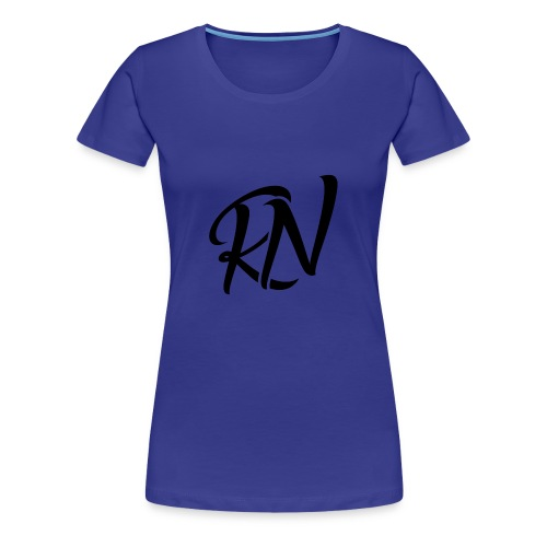 RomanNation Black (RN) - Women's Premium T-Shirt