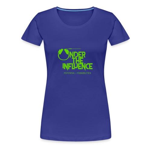 UndertheInfluenceGREEN - Women's Premium T-Shirt
