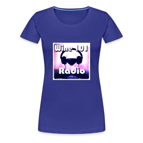 Wine 101 Radio Logo - Women's Premium T-Shirt