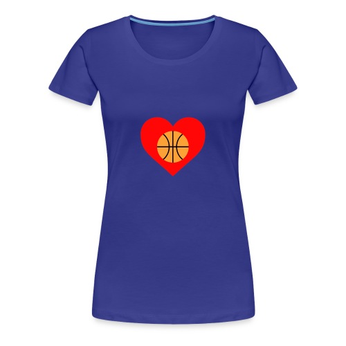 ballheartdesign - Women's Premium T-Shirt