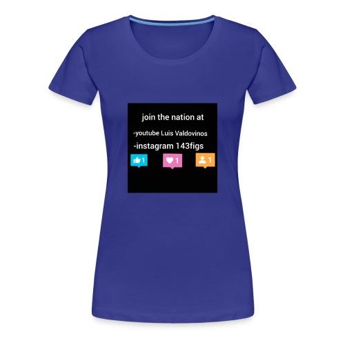 first shirt - Women's Premium T-Shirt