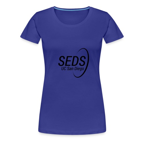 black black transparent - Women's Premium T-Shirt
