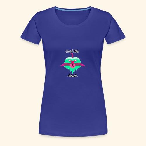 Cool Kat Mech. (Neon Glow) - Women's Premium T-Shirt