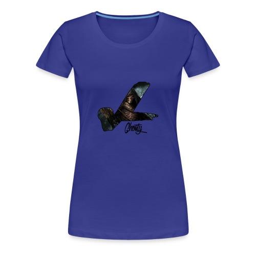 Ghosty vL Official Logo - Women's Premium T-Shirt