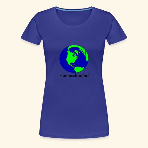 Homeschooled World - Women's Premium T-Shirt