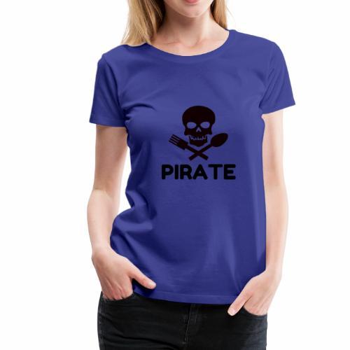 PIRATE COOK - Women's Premium T-Shirt