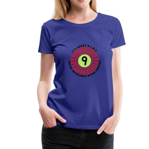 NINE Logo September 2018 - Women's Premium T-Shirt