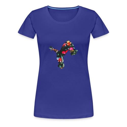 Tropical uproar flip logo - Women's Premium T-Shirt