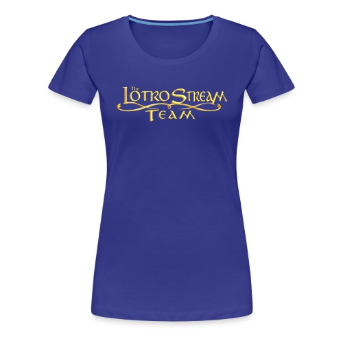 The LOTRO Stream Team Logo - Women's Premium T-Shirt