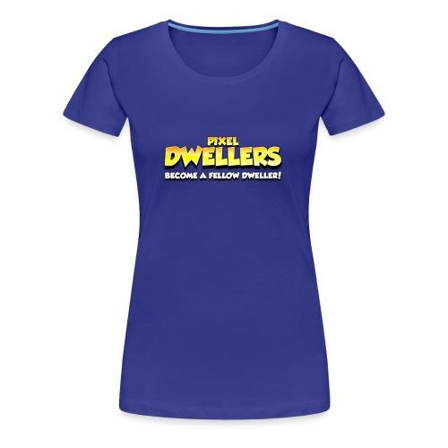 Pixel Dweller Logo - Women's Premium T-Shirt