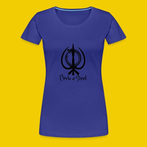 circle_of_steel_logo21 - Women's Premium T-Shirt