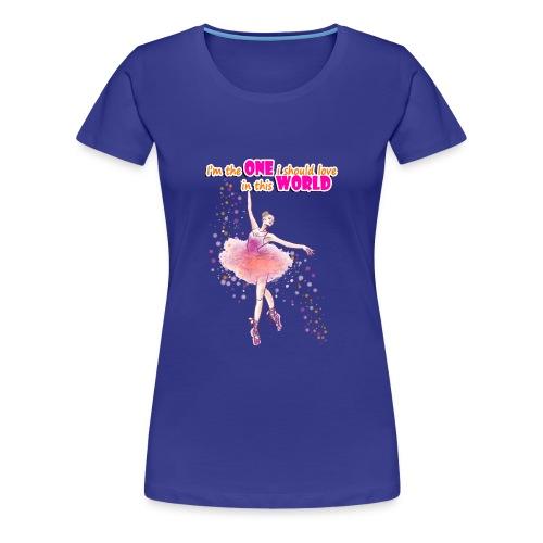 I m the one i should love - Women's Premium T-Shirt