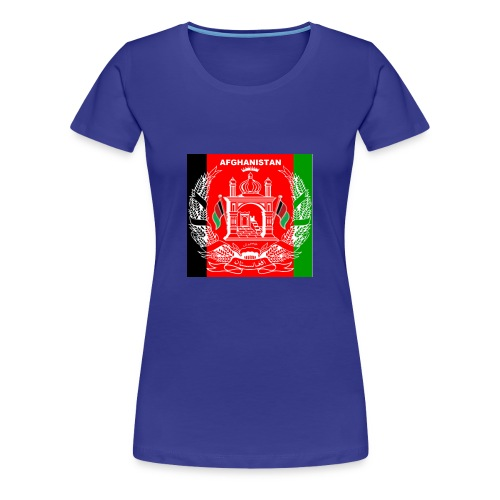 Afghan Logo-Flag Colors - Women's Premium T-Shirt