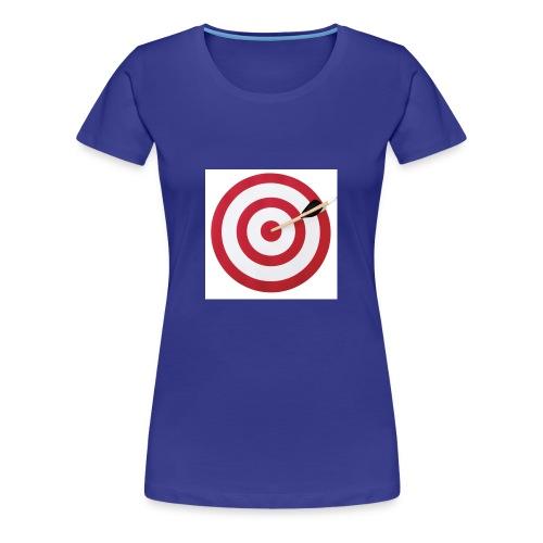 bulls eye - Women's Premium T-Shirt