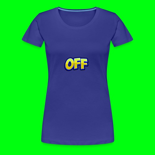 OFF logo - Women's Premium T-Shirt