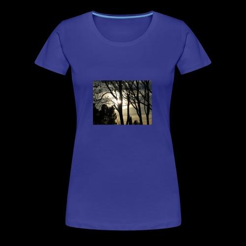 sun through the trees - Women's Premium T-Shirt