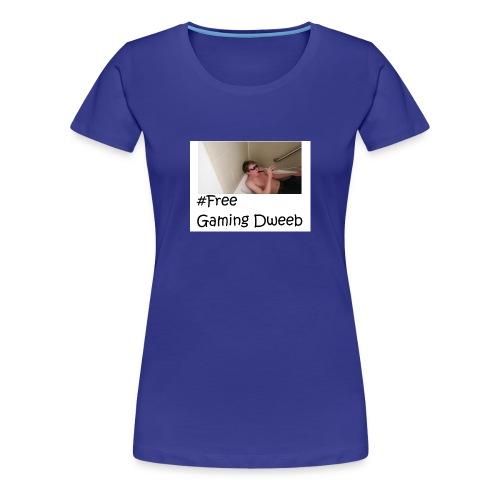 #FreeGamingDweeb - Women's Premium T-Shirt