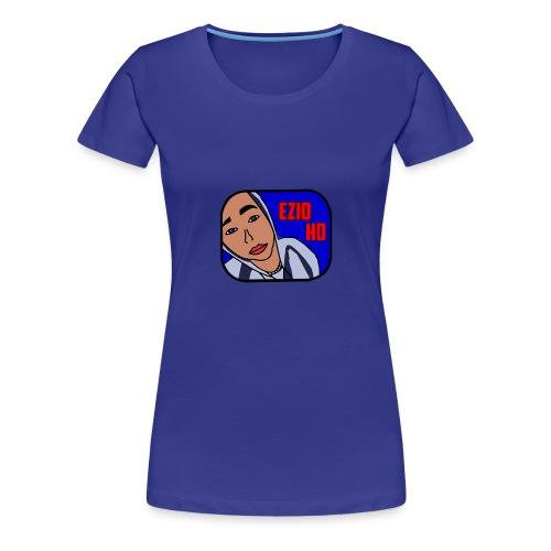 Logo Ezio HD - Women's Premium T-Shirt
