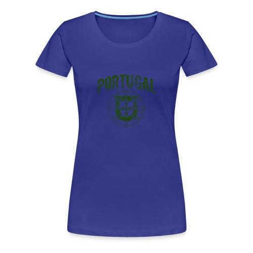 Vintage Portugal - Women's Premium T-Shirt