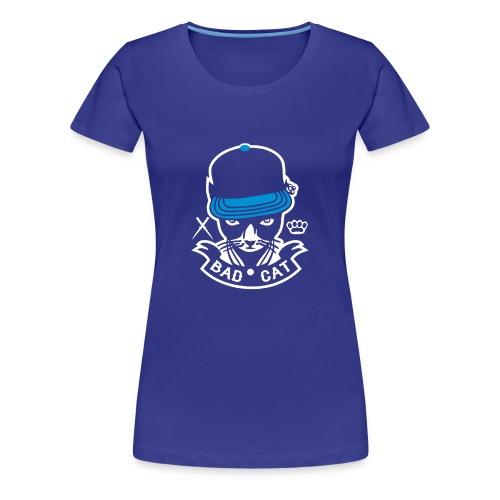 Bad Cat Geddo Cat - Women's Premium T-Shirt